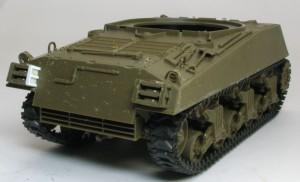 M4A3シャーマン 105mm榴弾砲搭載型 無くしたパーツを自作(;^ω^)