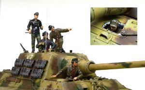 ドイツ武装親衛隊・戦車兵 1/35 ドラゴン