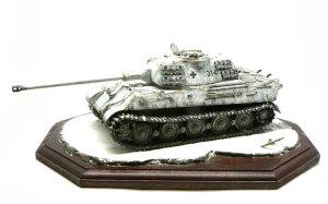 ドイツ重戦車・ケーニヒスティーガー ポルシェ砲塔 1/35 ドラゴン