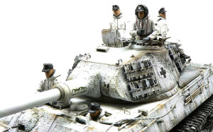 ドイツ戦車兵 1943年冬 服の塗装