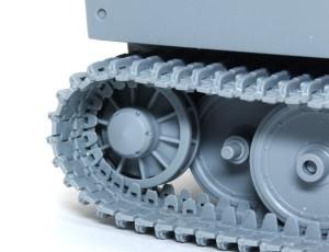 ティーガー1極初期型 誘導輪で調整