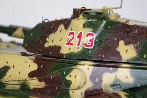 試作重戦車VK.45.02(P)H デカール貼り