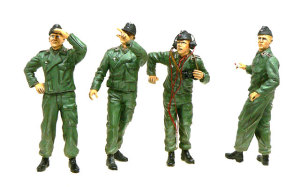 ドイツ戦車兵・ヤーボに気をつけろ 服の塗装
