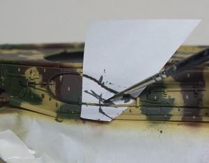 試作重戦車VK.45.02(P)H 下地を保護しながら塗分け