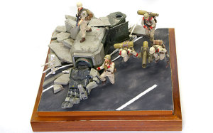 The ZAKU Hunters Diorama #5