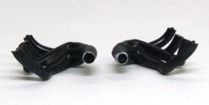 フェラーリ・F60 排気管の組立て