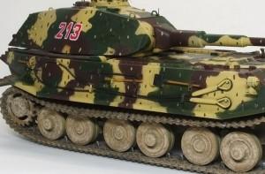 試作重戦車VK.45.02(P)H OVMの塗分け