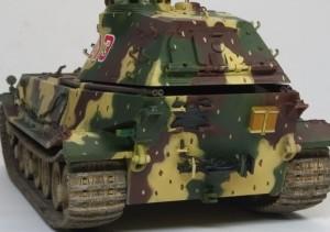 試作重戦車VK.45.02(P)H 車体後部のOVM