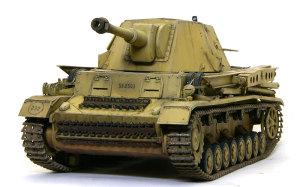 ドイツ・10.5cm自走榴弾砲ホイッシュレッケ4b 1/35 サイバーホビー