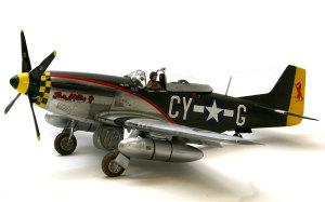ノースアメリカン・P-51Dマスタング 1/48 タミヤ
