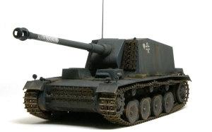 ドイツ・12.8cm重自走砲シュトゥーラ・エミール 1/35 トランペッター