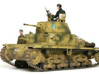 リベット留めの戦車は溶接戦車に比べると強度も弱いのですが、模型的にはなんとも良い味が出ます。弱くてもいいんです、私が乗る訳じゃありませんから。