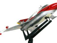 翼の端に付けたミサイルは、潮吹き怪獣ガマクジラ専用の特殊ミサイルです。