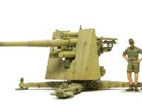 非常に薄く成型された防盾はキットの箱の中で変形してしまっていたため、直すのに一苦労しました。