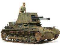 1号戦車B型をベースに作られた対戦車自走砲です。エッチングパーツや細かなパーツが多く、とてもスマートキットとは思えません。