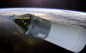 アポロ11号月着陸船 地球周回軌道を離れ月に向かう