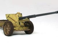 こうしてみると弟分のPak40 7.5cm砲にそっくりなのですが、実はその大きさはかなり違います。