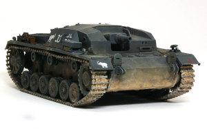 ドイツ・3号突撃砲B型 1/48 タミヤ