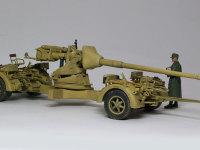砲本体も砲架も非常にシンプルなのですが、リンバーがゴチャゴチャです。しかもそれを余すことなくしっかりと再現しているドラゴンもさすがですよね。