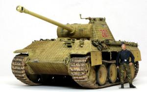 ドイツ・5号戦車パンターA初期型 1/35 ドラゴン