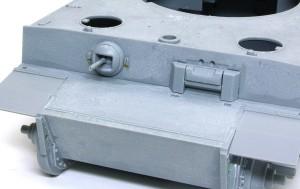 ティーガー1極初期型 車体前部