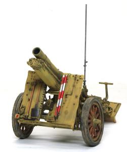15cm重歩兵砲sIG33 仕上げ