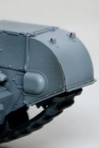 チャーチルMk.3 フェンダーパーツの隙間