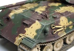 試作重戦車VK.45.02(P)H ウオッシングとドライブラシ