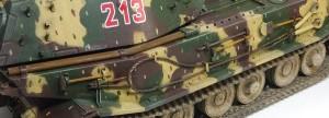 試作重戦車VK.45.02(P)H OVMなどの錆表現