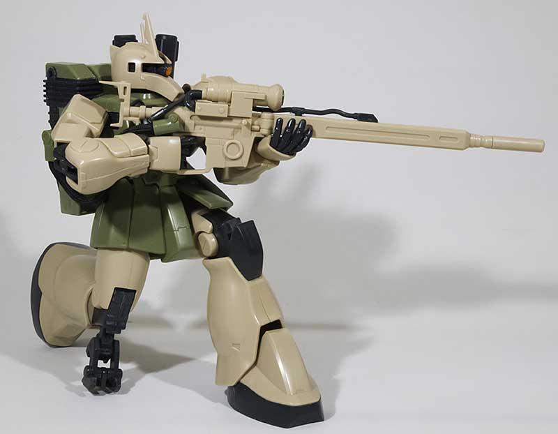 ジオン・MS-05Lザク1・スナイパータイプ 1/144 バンダイ