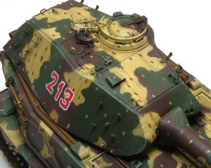 試作重戦車VK.45.02(P)H 雨だれ痕