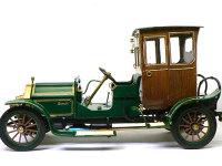 真横から見たビアンチ・モデル1907です。1/16ということで長さが29cm、背の高さが16cmもあるビッグモデルです。
