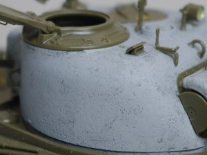 M4A3シャーマン 105mm榴弾砲搭載型 鋳造肌の追加
