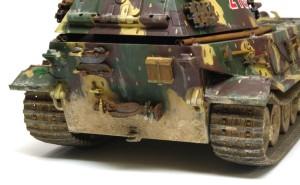 試作重戦車VK.45.02(P)H 車体下部の汚し