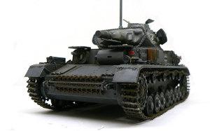 ドイツ・4号潜水戦車D型 1/35 サイバーホビー