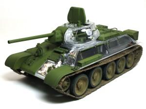 ソビエト戦車・T-34/76 第112工場 1/35 AFVクラブ