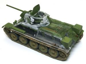 T-34/76 第112工場 パソコンでエンジンデッキを半透け処理