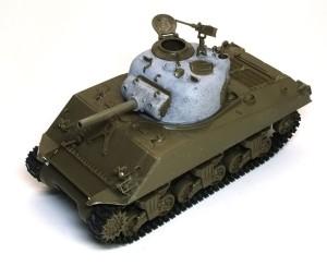 M4A3シャーマン 105mm榴弾砲搭載型 組立て完了