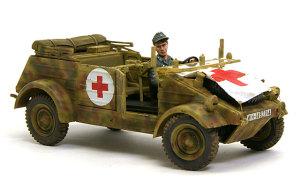キューベルワーゲン救急車 車両のウエザリング