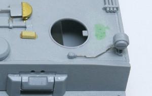 ティーガー1極初期型 ライトコードはキットに付属