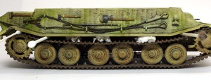 試作重戦車VK.45.02(P)V 履帯の垂れ