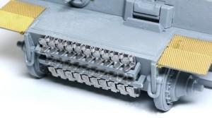 ティーガー1極初期型 予備履帯はフリウルの余剰パーツから