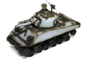 M4A3シャーマン 105mm榴弾砲搭載型 影吹き