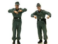 ブルムベア中期型用に用意した自走砲兵です。こちらは自走砲兵ですから兵科色は砲兵の赤です。