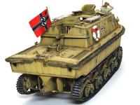 3号戦車、4号戦車と同じエンジンを搭載しているためか、後部デッキは戦車のエンジンデッキに雰囲気が似ています。