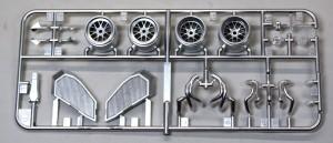 フェラーリ・F60 メッキパーツ