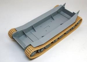 試作重戦車VK.45.02(P)H ピアノ線で履帯を押さえる