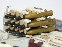 砲弾ラックです。砲塔の左右に11発ずつの砲弾を搭載可能でした。