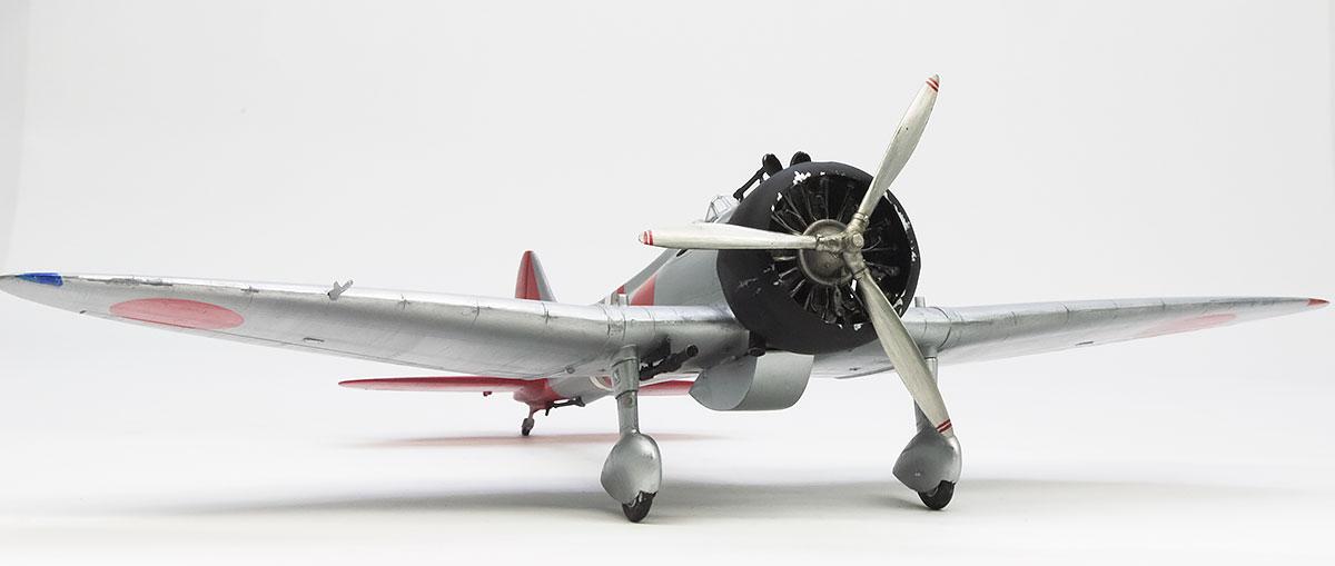 日本海軍・96式2号艦上戦闘機1型前期型 1/48 ファインモールド