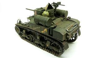M3A1スチュアート OVMの取り付け